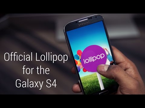 Galaxy S4 – Official Android 5.0 Lollipop Update – Install Instructions [I9505 & I9500]