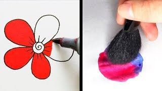 Video 27 COOL DRAWING TRICKS THAT YOU WILL LOVE MP3, 3GP, MP4, WEBM, AVI, FLV November 2018