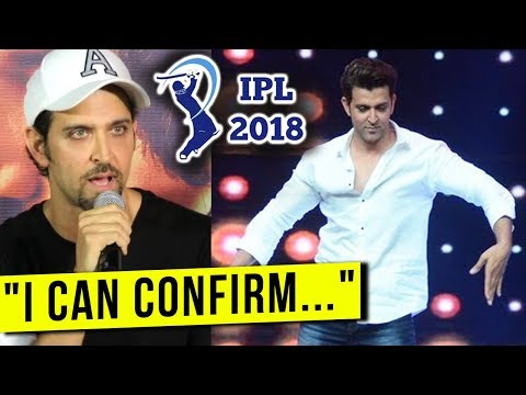 Hrithik Roshan's Official Statement On IPL 2018 Op