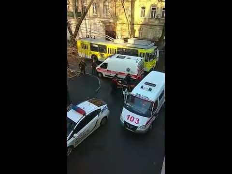 Перестрелка в Одессе 19.01.2018г.
