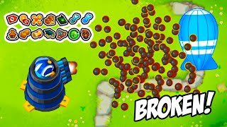 The BEST GOD BOOSTED Dartling Gunner Path In Bloons TD6
