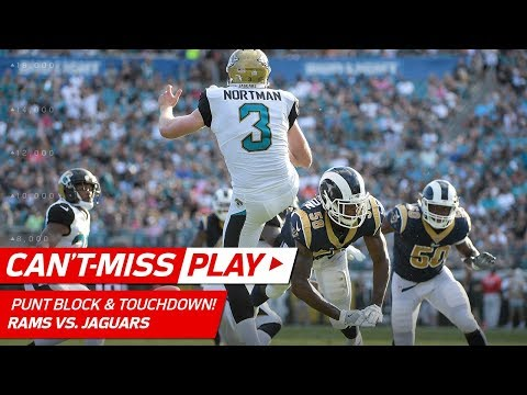 Video: Rams' Diving Punt Block & Scoop-'n-Score to Extend the Lead! | Can't-Miss Play | NFL Wk 6