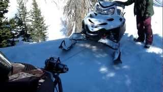 9. ski doo expedition winch rescue