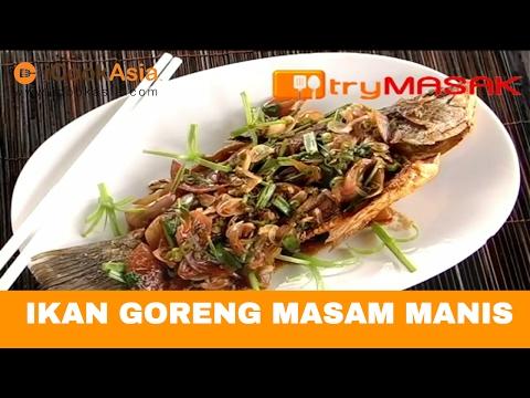 Ikan Goreng Masam Manis | Try Masak | iCookAsia