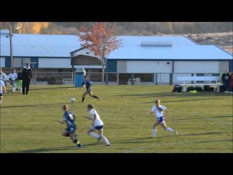 Brixaida Mendoza #23 High School Highlights 2015 Footwork video #2