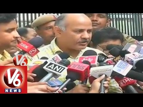 BJP conspires to illegally form government in Delhi  AAP Manish Sisodia