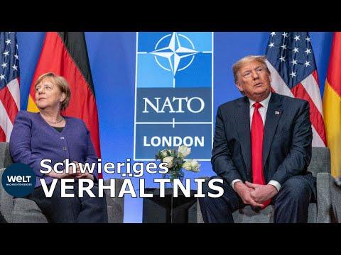 MERKEL UND TRUMP Wie die Bundeskanzlerin das VerhГltnis zu den USA bewertet