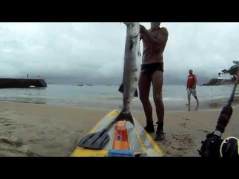 Pesca de Prancha Extrema - Barracuda
