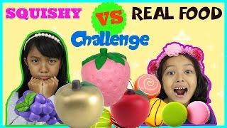 Video SQUISHY VS REAL FOOD CHALLENGE MP3, 3GP, MP4, WEBM, AVI, FLV Agustus 2018