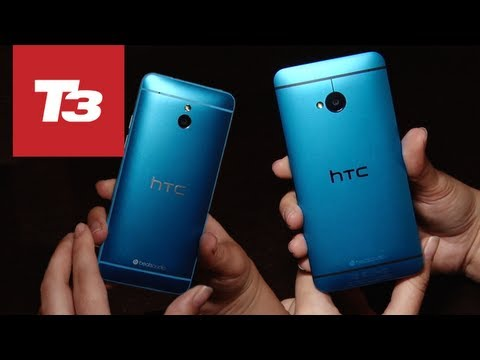 HTC One Blue hands-on video