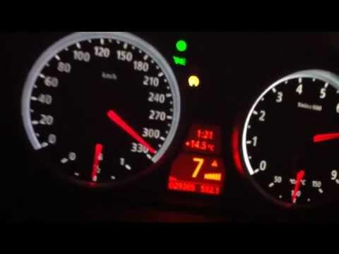 fantastica bmw m6 - accelerazione da 0 a 330 km/h!