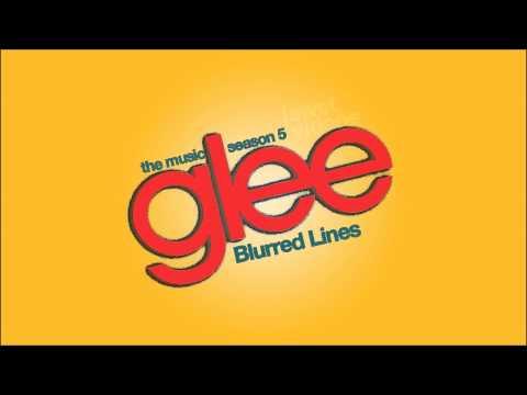Tekst piosenki Glee Cast - Blurred Lines po polsku