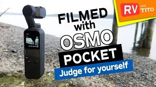 DJI OSMO POCKET Video and Audio Quality Test
