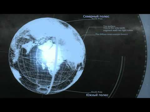 3D-модель полой земли