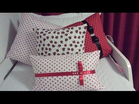 Capa de almofada s/costura