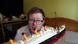 """Titanic on Aliexpress: http://s.click.aliexpress.com/e/V3NZf6qSinking of the Lego Titanic! (& Review of Oxford Deluxe """"Fake Lego"""" Titanic from Smyths)"""