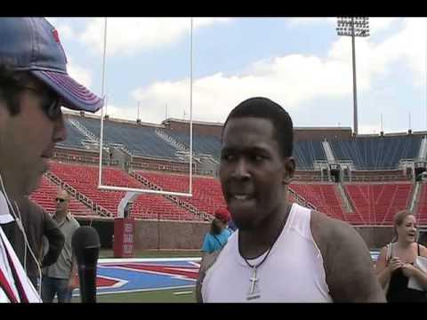 Darius Johnson Interview 4/28/2012 video.