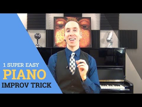 Piano Improvisation: 1 Super Easy Trick To Play Great Licks