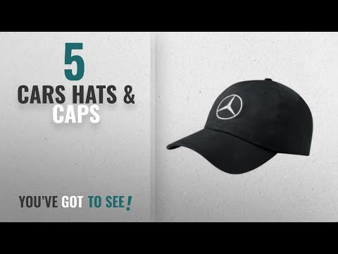 Top 10 Cars Hats & Caps [2018]: Mercedes-Benz Black Unisex Cap