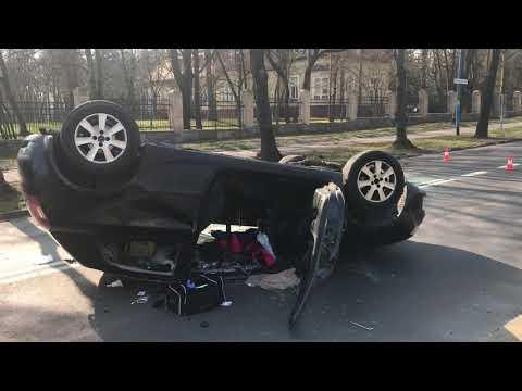 Wideo: Wypadek pijanego kierowcy w Lubinie