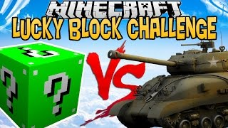 Video GREEN LUCKY BLOCK VS TANK ! | LUCKY BLOCK CHALLENGE |[FR] MP3, 3GP, MP4, WEBM, AVI, FLV November 2017