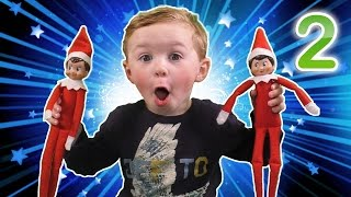 We touched Our Elf! Elf on the Shelf Party | Olaf Hide and Hug | Minion Operation | Pie Face Elf