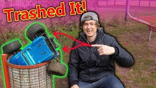 Video Trashed My RC Car doing a DANGEROUS Challenge (DON'T TRY YOURSELF!) MP3, 3GP, MP4, WEBM, AVI, FLV Juli 2019