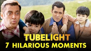 7 FUNNY Moments Of Salman Khan & Matin Rey Tangu From Tubelight