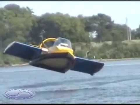 Flying Ground Effect Hovercraft