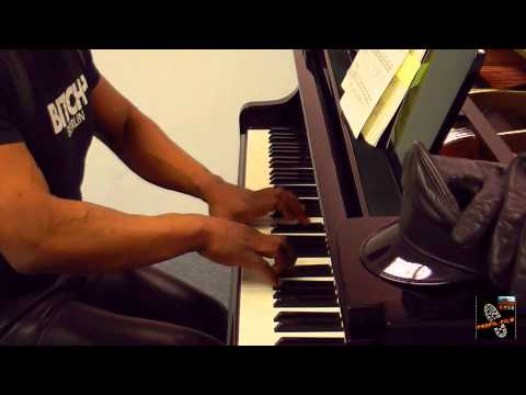 TYRONE PLAYS CHOPIN IN LEATHER