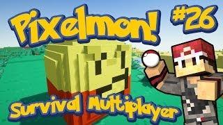 Pixelmon Survival Multiplayer Episode 26 - That Yellow Boss Piñata w/xRpMx13&LittleLizard