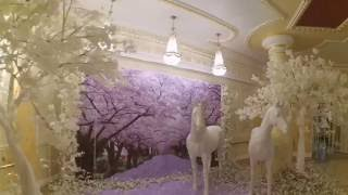 Белоснежные деревья для сказочной свадебной фотозоны