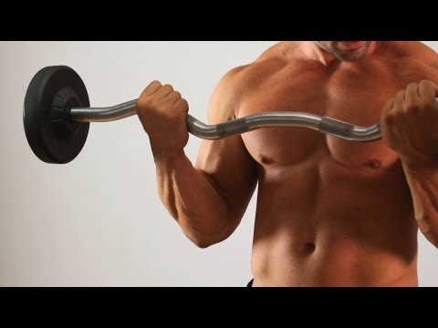 barbell - See what you can learn on the go with the new Howcast App for iPhone and iPad: http://bit.ly/11ZmFOu Watch more Home Arm Workout for Men videos: http://www.h...