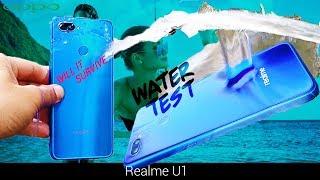 Video Realme U1 WATER TEST ☔ ¦¦ Surprising Waterproof factor🧜💦as Realme 1 ¦¦ MP3, 3GP, MP4, WEBM, AVI, FLV Desember 2018