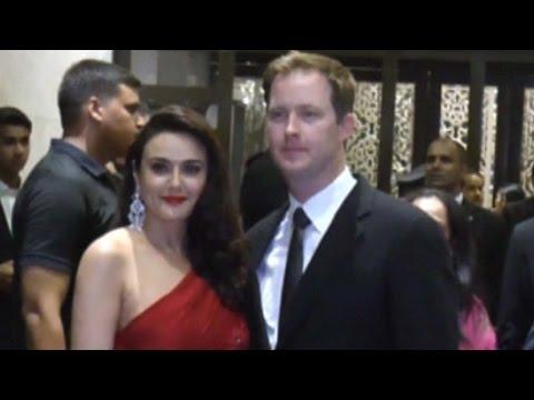 Preity Zinta Makes Grand Entry With Hubby Gene Goo
