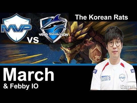 MVP March plays Bristleback [The Rise of Korean Rats vs Vega Squadron] Dota 2 [TI5]
