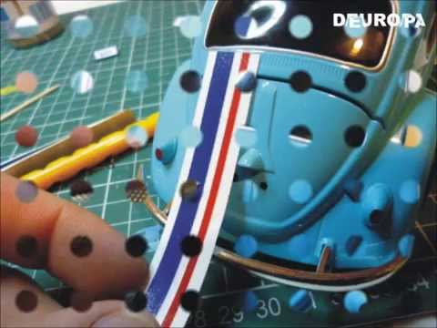 Herbie - This is a little video of the steps to install a herbie decal set on a jada toys model, but it can be install on any diecast 1/24.