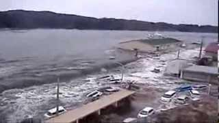 Цунами в Японии (Катастрофы. НЛО. Конец света)