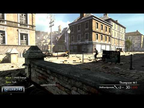 геймплей Sniper Elite V2