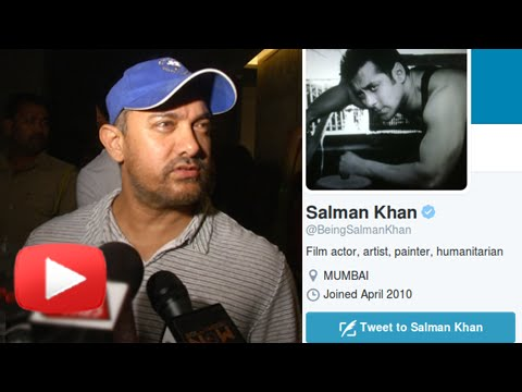 Aamir Khan Refuses to React On Salman Khan's Tweet