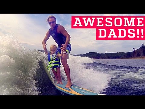 People Are Awesome Dads and Kids Edition