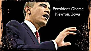 Newton (IA) United States  city photos gallery : President Obama Speech Newton Iowa