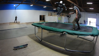 Video MASSIVE TRAMPOLINE HIPPY JUMP MP3, 3GP, MP4, WEBM, AVI, FLV Agustus 2017