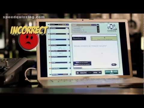 Video of SpeedQuizzing Virtual Buzzer