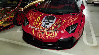 Video Crazy Secret Yakuza Lamborghini Parking Lot Tokyo MP3, 3GP, MP4, WEBM, AVI, FLV Februari 2018