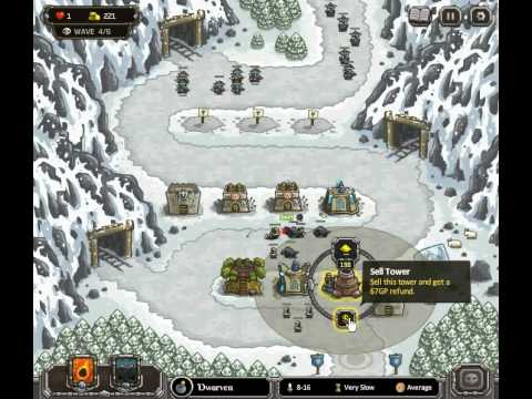 Kingdom Rush - Coldstep Mines (Level 7) - Heroic Challenge - normal difficulty