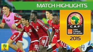 Gabon - Equatorial Guinea (0-2)  Résumé du match - Groupe A  Match highlights - Group A Orange Africa Cup of Nations, EQUATORIAL GUINEA 2015 Coupe d'Afriqu...