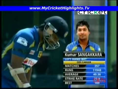 Highest ODI score by a Sri Lankan batsman