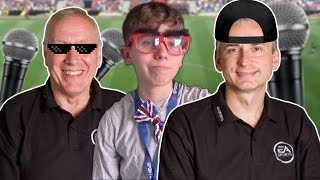 So this is how to become a FIFA commentator.... kinda. Leave a LIKE if you enjoyed the video and make sure you SUBSCRIBE if you haven't already - thanks for watching!-------------------------------------------------------------------------------------------------▶︎ I do not own or take credit for any of the music in this video-------------------------------------------------------------------------------------------------▶︎ Twitter - https://twitter.com/Juron24▶︎ Twitch - http://www.twitch.tv/jur0n/profile▶︎ Instagram - https://www.instagram.com/jur0n/-------------------------------------------------------------------------------------------------