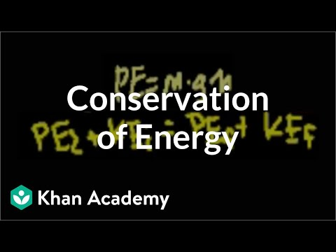 Conservation of energy (video) | Khan Academy
